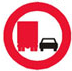 Overhaling forbudt for lastbiler