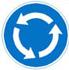 rundkørsel - Påbudt kørsel retning