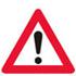 Færdseltavle advarer anden fare forude, ofte med undertavle